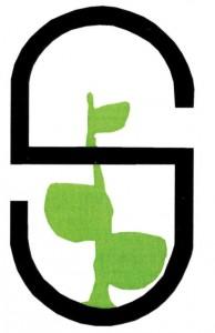 """Tämä logo on Suojarinteellä työskennelleen ohjaaja Hannu Piilosen suunnittelema. Se saattaa löytyä jostakin Suojarinteen kortista, sillä sitä käytettiin virallisissa kirjepapereissakin. Hannu muuten suunnitteli 1990 Suojarinteelle yhden muistomerkinkin: Suojarinteen alueet kauppalalle lahjoittaneen Möttölän talon peruskivistä Hannu laati """"Kasvun"""" Kotiharjun (ja Möttölän talonpaikan) alapuolelle. Yhä pystyssä."""