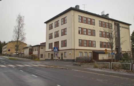 Näille paikkeille rakentuu Äänekosken Yhtenäiskoulu. Mutta mikä sille nimeksi?