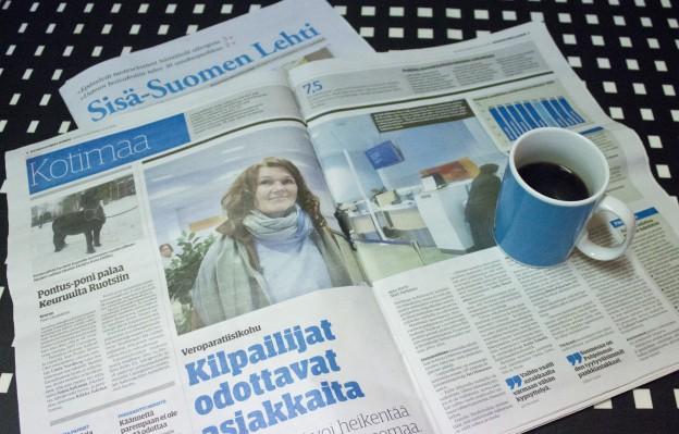 Tilattava sanomalehti