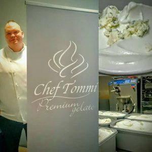Chef Tommi tuo Äänekoski-jäätelön myös jatsikansalle ja miksei muillekin.