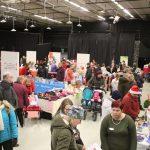 Viime vuonna Painotalo pursusi väkeä Perinne ry:n joulumarkkinoiden aikaan.
