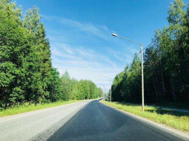 Puunpoistot maanteiden varsilta jatkuvat tänäkin vuonna