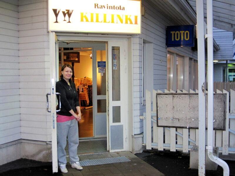 Ravintola Killinki liittyi koronankaatotalkoisiin – viikonloppuiltana ovet kiinni