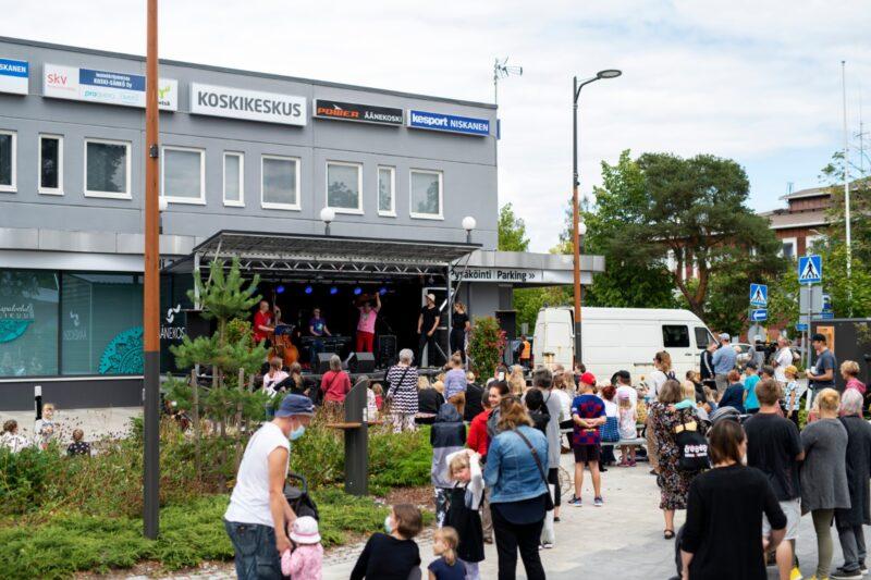 Historian ensimmäinen Ääniä Festivaali alkaa olla taputeltu