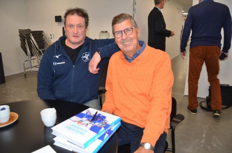 Kinnusiin kiteytyy iso lohkare suomalaista keihäshistoriaa – kirja Sinivalkoinen keihäskaari on julkaistu